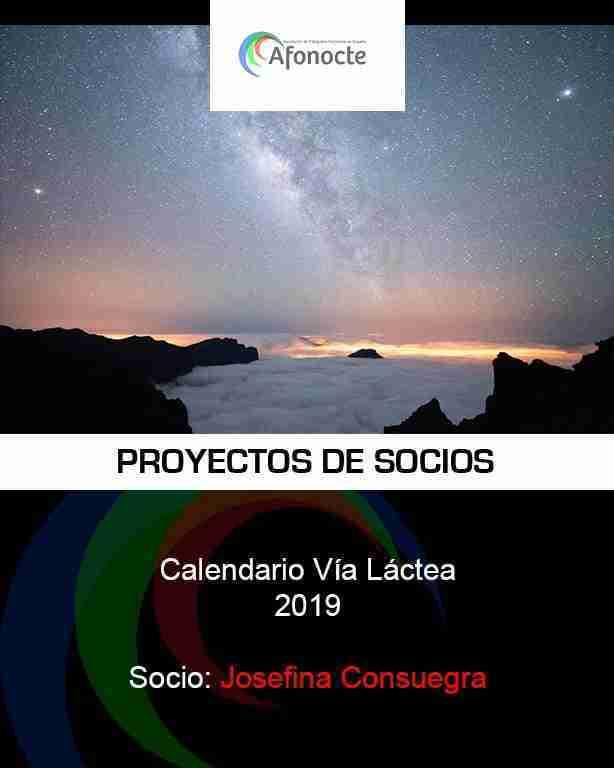 calendario via lactea 2019